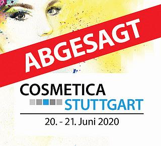 COSMETICA & GUT zu FUSS Stuttgart abgesagt